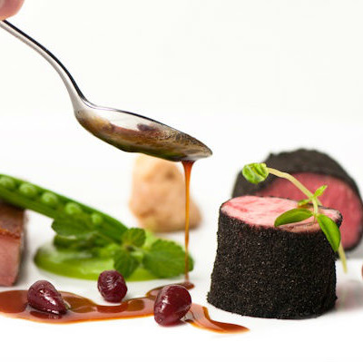 Stock jus demi glaze broth chefs pantry for Lamb jus