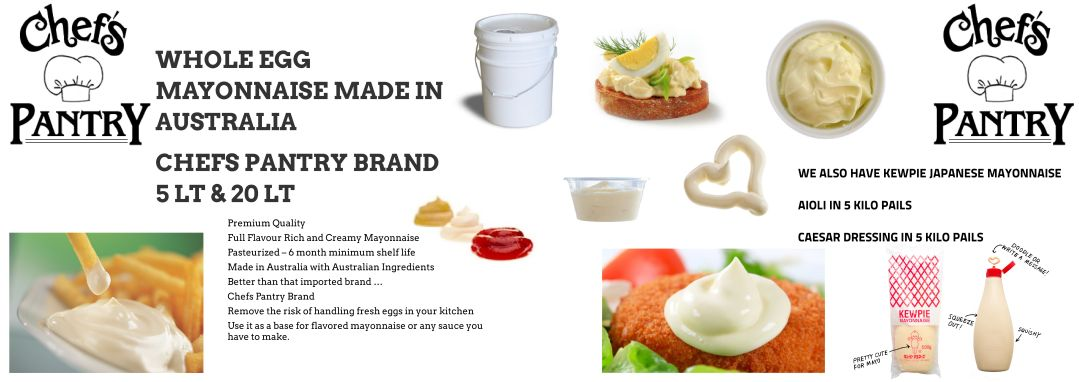 Chefs Pantry – Banner Mayo