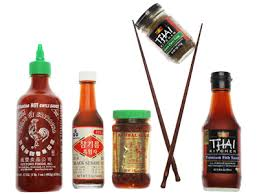 Ingredients, Asian