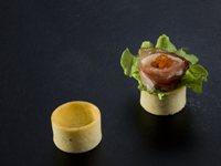 520 La Rose Noire - Savoury Mini Round Tart Shells  33mm x 18mmH  210 per box