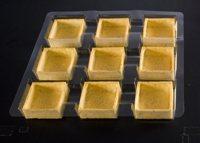526 La Rose Noire - Savoury Large Square Tart Shells  36 per box