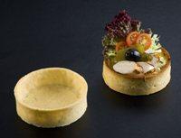 527 La Rose Noire - Savoury large Round Tart Shells  36 per box