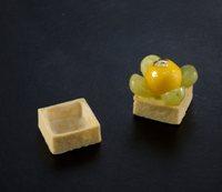 532 La Rose Noire - Vanilla Mini Square Tart Shell  216 per box