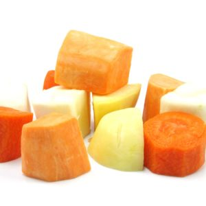 Root Vegetable Mix 20mm dice (Raw) 1 kg