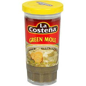 Mole Green (La Costena) 12 x 233 gm jar