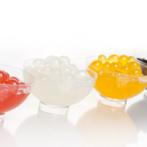 Molecular Flavour Pearls