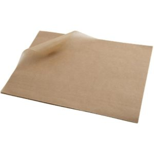 Greaseproof Paper Natural Half Size, 800 sheets