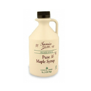 Pure Maple Syrup Tania 6 x 1lt
