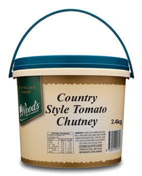 Woods Country Style Tomato Chutney 2.4 lt