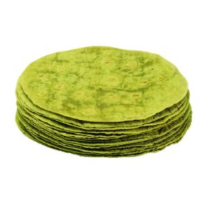 Tortillas Frozen flavoured tortillas 12inch spinach 12 x 1 doz pkts