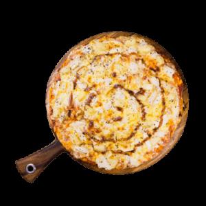 """Pizza Topped - BBQ Chicken Pizza 9"""" (12 per box)"""