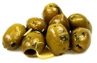 Olives Green Marinated 2.5 kg tray