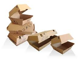 Clamshell Dinner Box Takeaway Corrugated 150 ctn