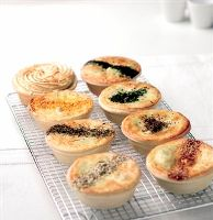 Ivans Pies - Egg, Bacon   Cheese Pie 6pce