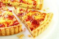 Ivans Pies - Savoury Tart Smoked Salmon Ricotta   Dill (10 inch)