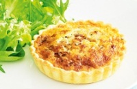 Quiche Spinach & Cheese Quiche Single Serve 8pce