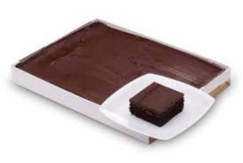 Cake Slab Cake 2 kg Chocolate Cake 21cm x 30cm