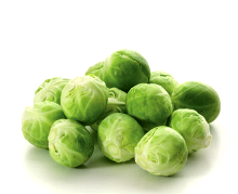 Brussel Sprouts cleaned and cut 1KG