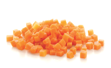Carrot Diced 10mm 1 kg