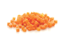 Carrot Diced 6mm 1 kg